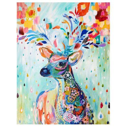 DIY 5D Diamond Painting Embroidery Deer Kit Art Cross Stitch Home Decor Home