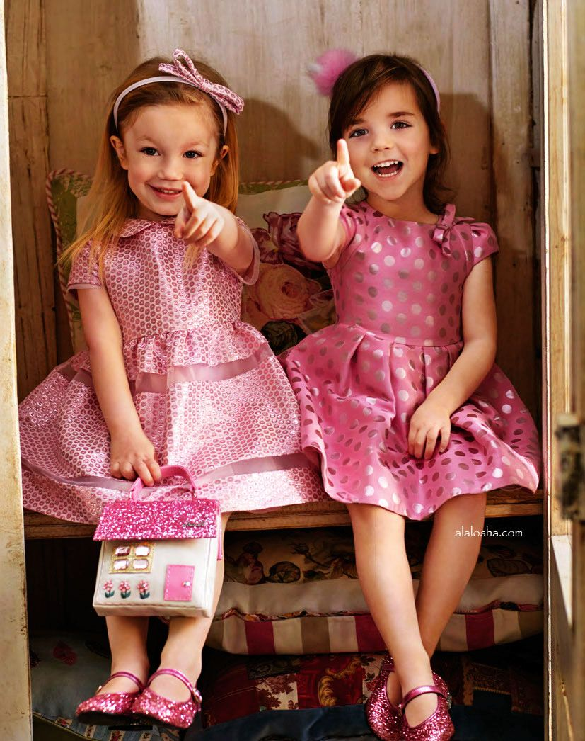 ALALOSHA: VOGUE ENFANTS: Be sparkle with Simonetta♥ | Childrenswear ...