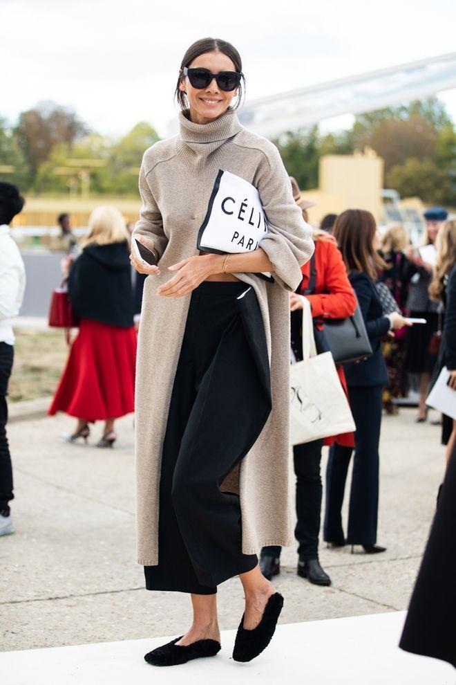 Street Style auf der Pariser Modewoche Frühling / Sommer 2019 © Sandra Sembu #trendystreetstyle