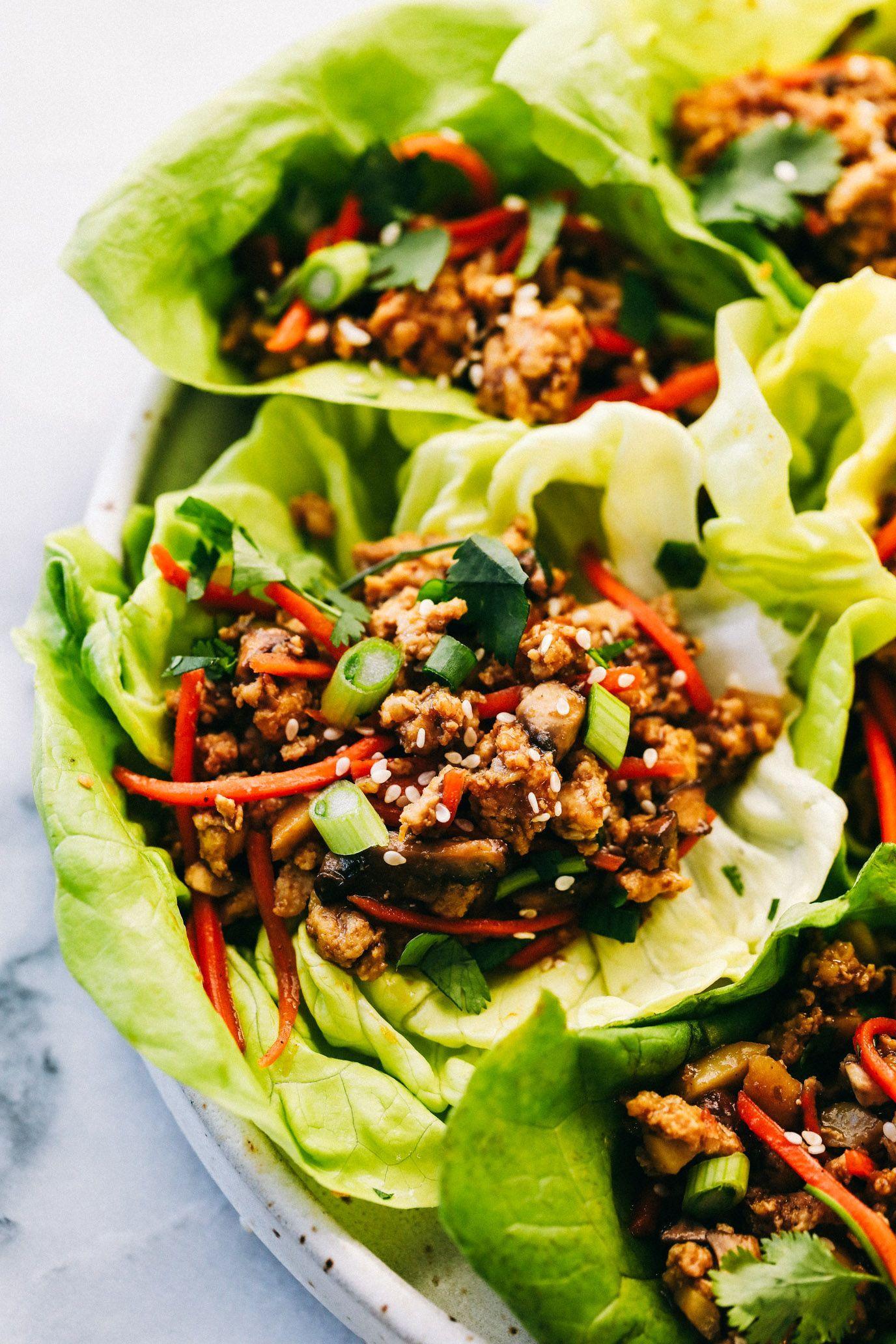 Photo of Asian Turkey Lettuce Wraps | The Recipe Critic #turkeyrecipes Asian Turkey Lettu…