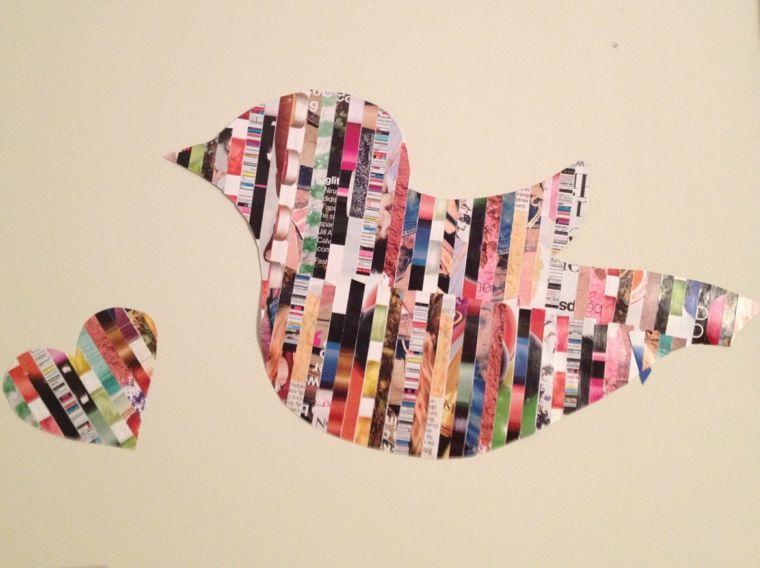 trabajos manuales proyectos DIY decorar pared ideas Decoración