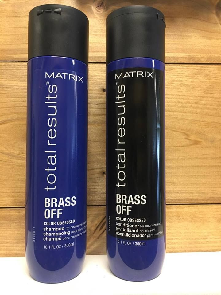 Deep Blue Shampoo And Conditioner Designed To Neutralize Brassy