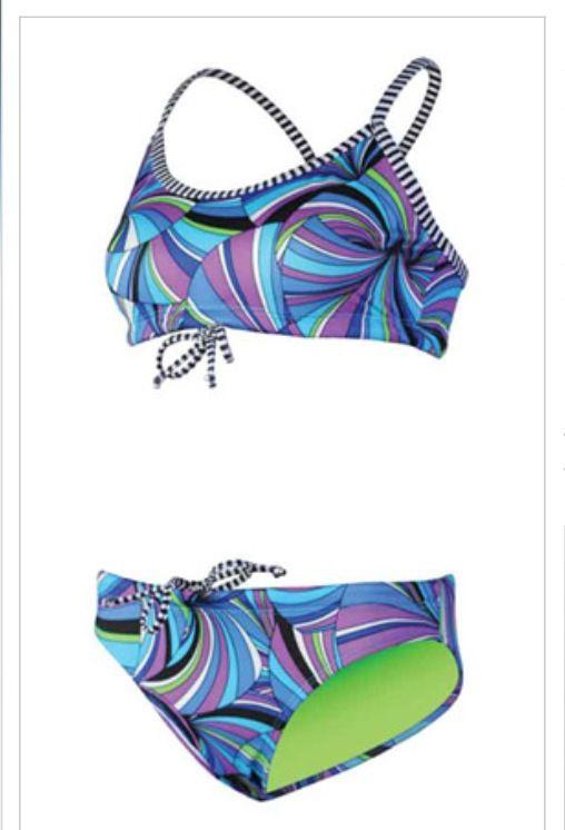 Dolfins Uglies Two Piece Swim And Polo Swimming Swimwear Swim