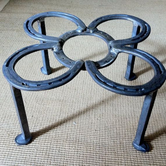 Dutch Oven stand great camp cooking extra by BlacksmithCreations on Etsy.