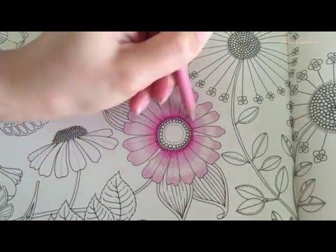 SECRET GARDEN | Prince Frog's Magical Pond | Coloring With ...