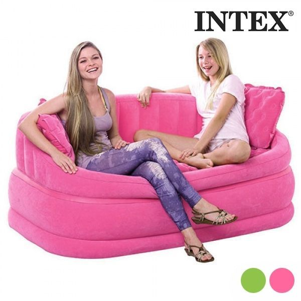 Details about INTEX INFLATABLE SOFA (2 SEATS)apartments