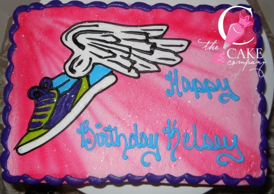 Cross Country Birthday Cake With Images Country Birthday Cakes