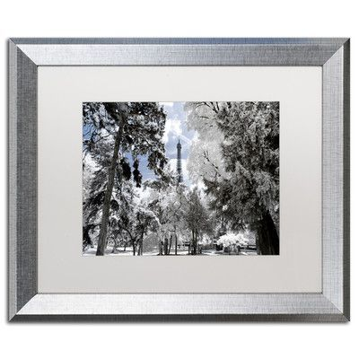 """Trademark Art """"Another Look at Paris II"""" by Philippe Hugonnard Framed Photographic Print Size: 1"""