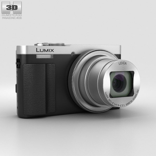 Panasonic Lumix DMC-TZ70 3d model from Humster3d.com