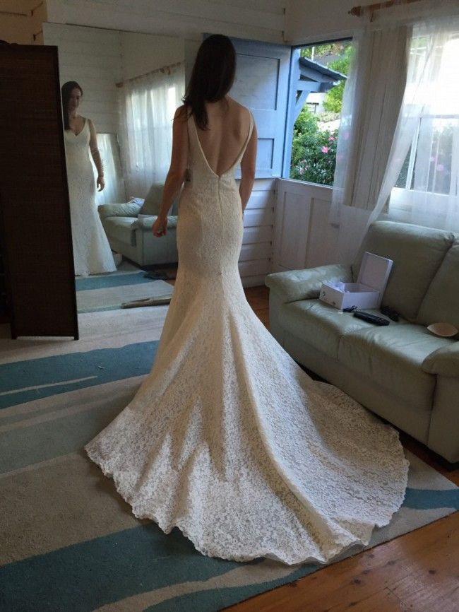 ebf08000585 Pronovias Maricel Wedding Dress