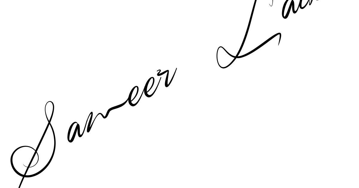 Create Your Signature ...