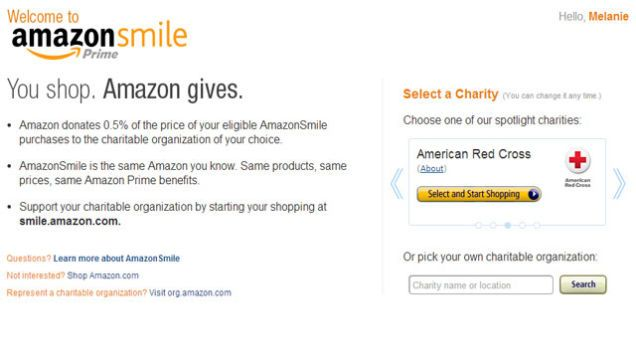 Amazonsmile Donates Part Of Your Purchases To Your Favorite