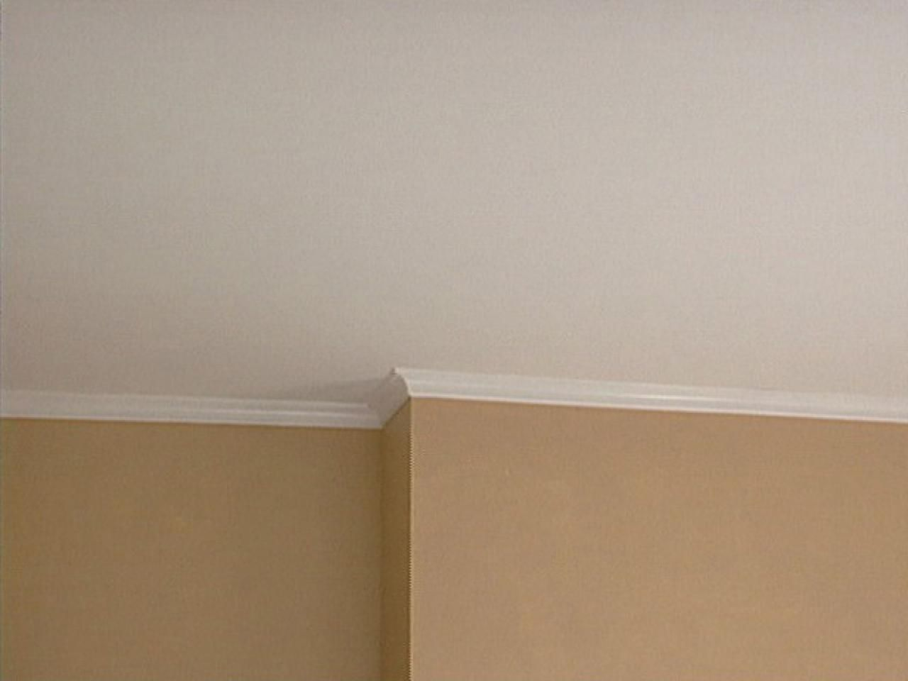 How To Install Crown Molding House Repairs Remodels Faux