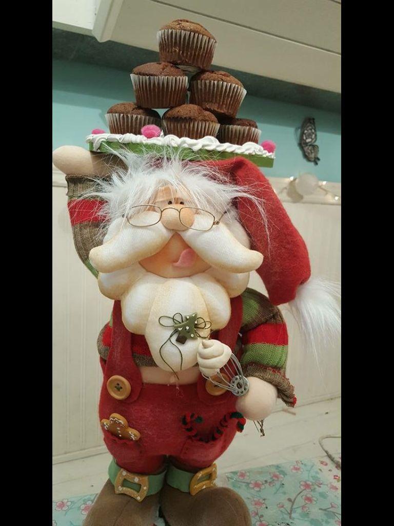 Resultado de imagen para mu ecos navidad alejandra sandes - Munecos de navidad ...