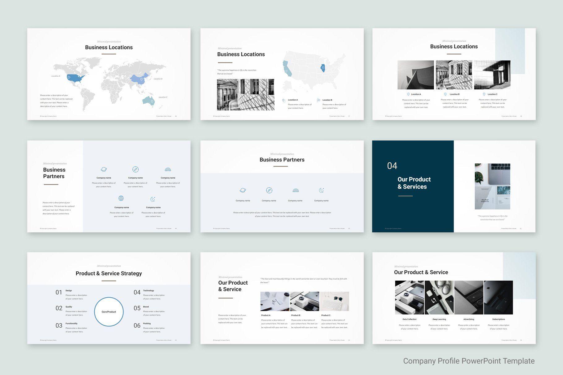 Company Profile Template Company Profile Templates
