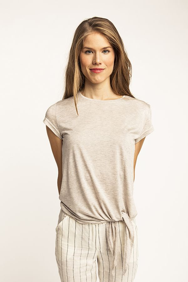 Selja Knot Tee   Schnittmuster bluse, Schnittmuster und Oberteile