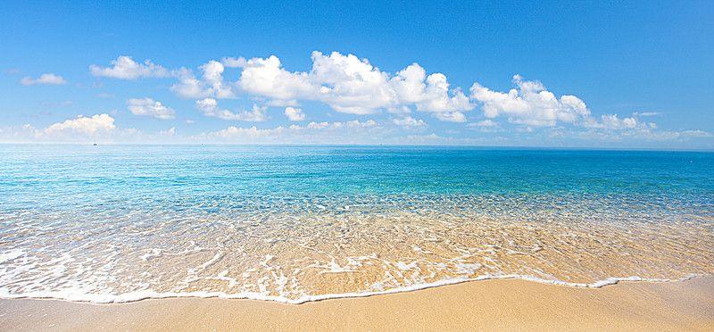 Praia Areia Oceano Mar Background Em 2020 Imagens De Praia Ola