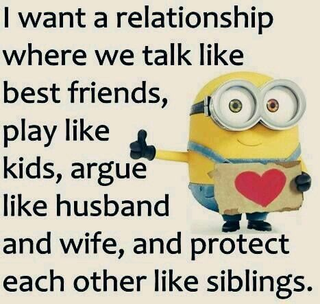 Perfect Relationship Funny Minion Quotes Funny Minion Pictures Funny Minion Memes