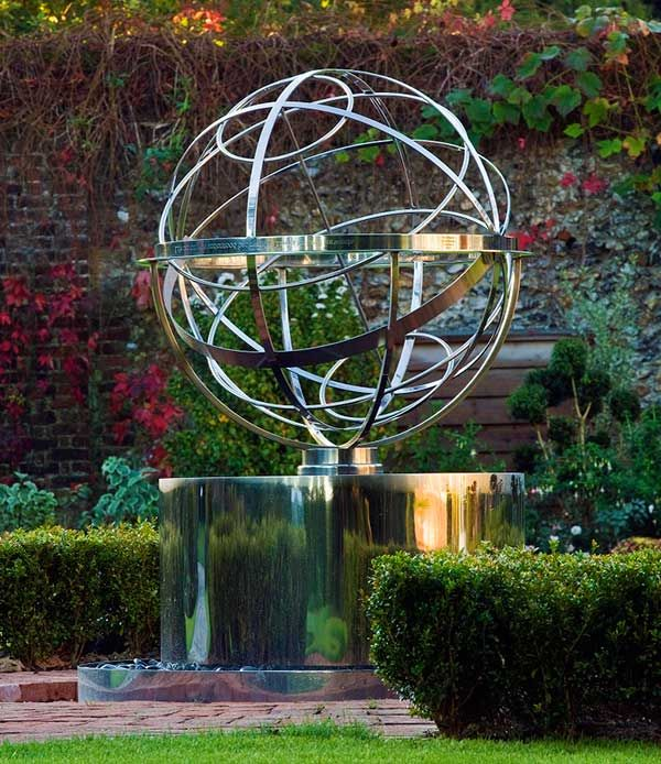Gardens · Stainless Steel Armillary Sphere