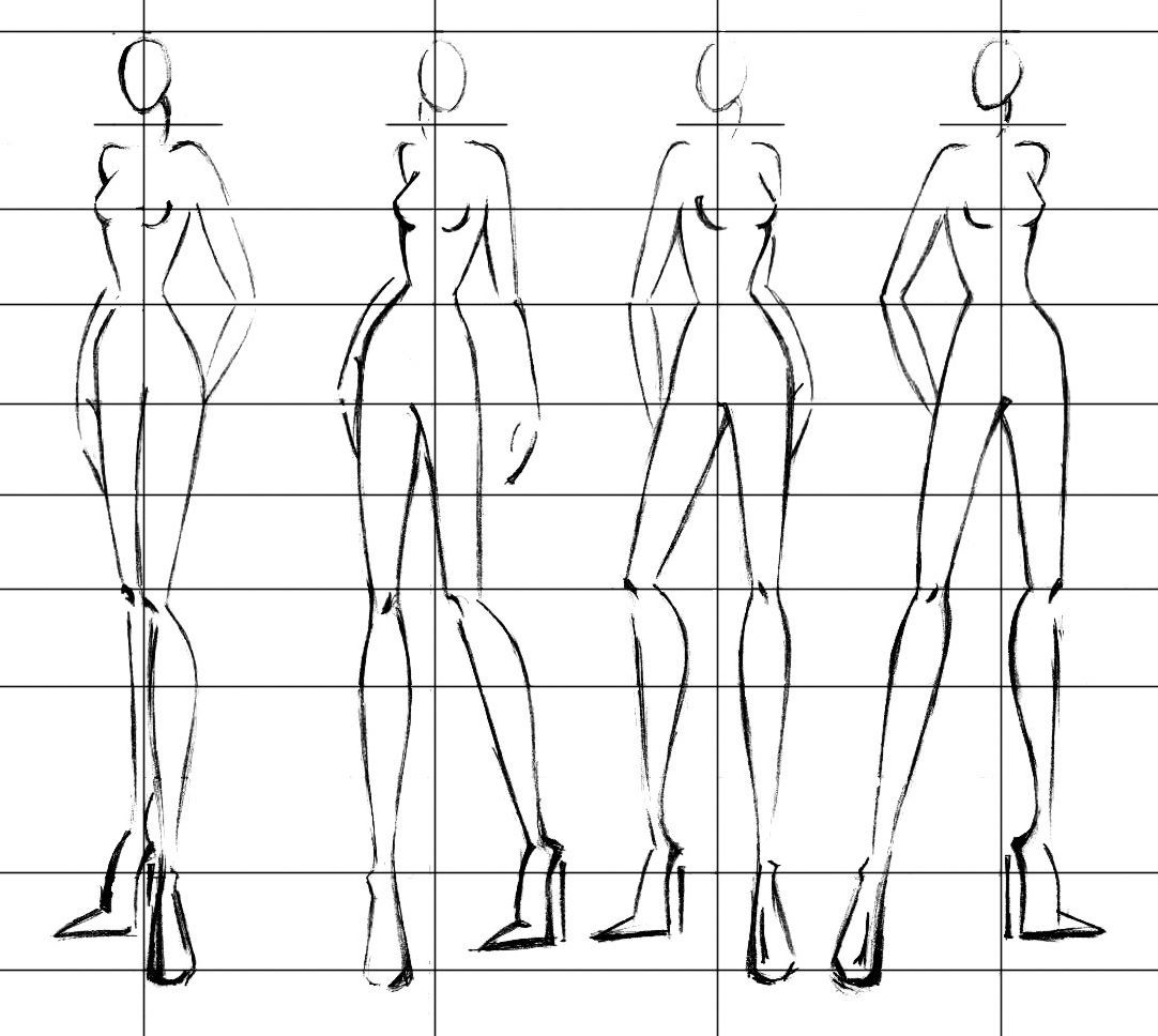 Fast Fashion Figures The Super Easy Way Fashion Model Drawing Fashion Design Drawings Fashion Design Sketches