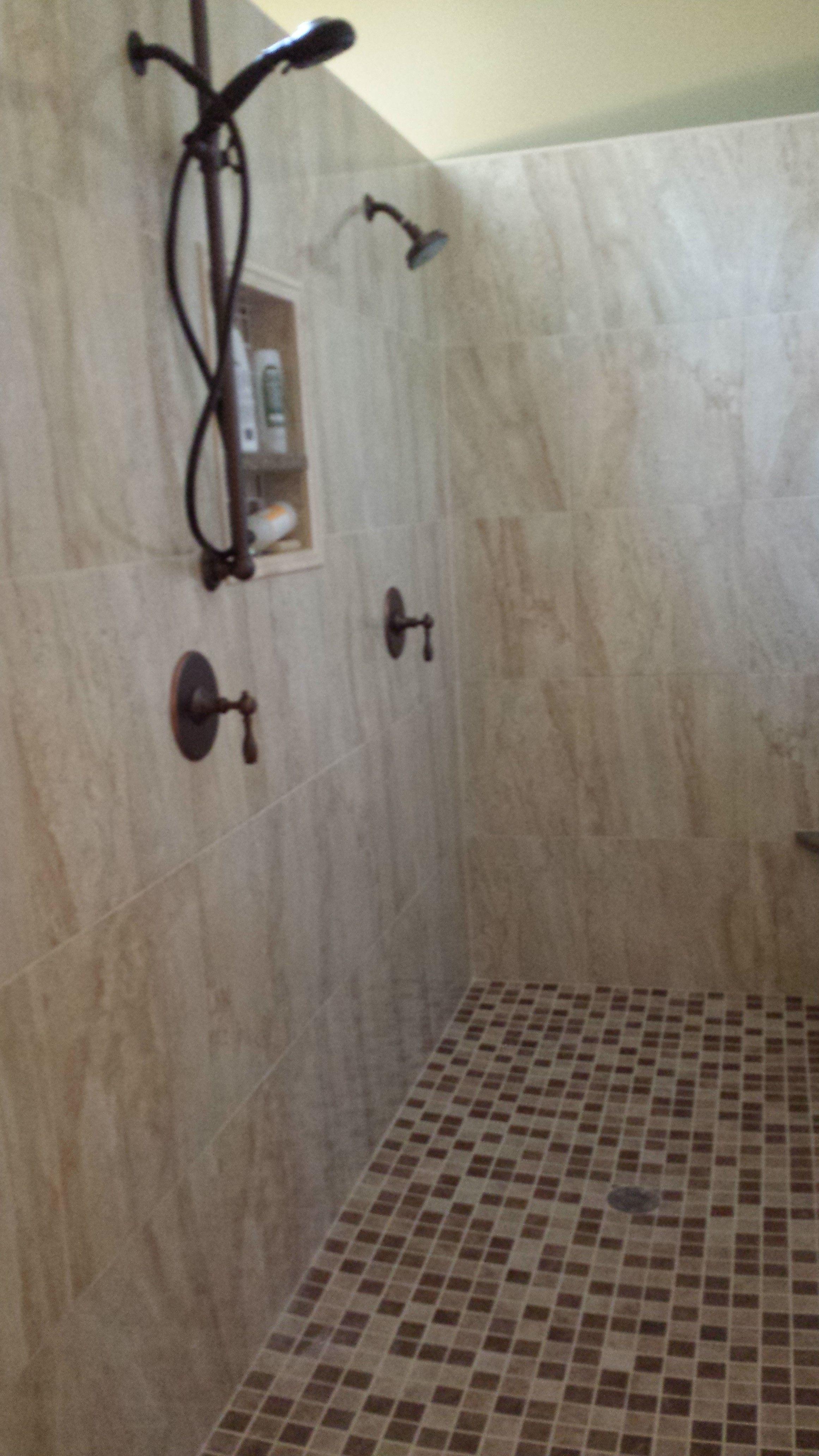 Walk In No Door Shower Love Master Bath Remodel Bath Remodel Bathrooms Remodel [ 4128 x 2322 Pixel ]