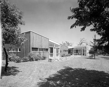 Geller House I 1945 Marcel Breuer Modern Exterior