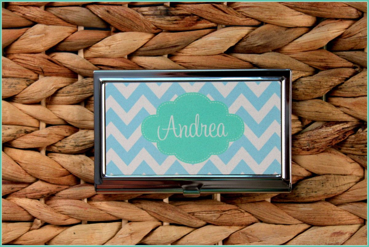 Custom Business Card Case, Personalized Business Card Case ...