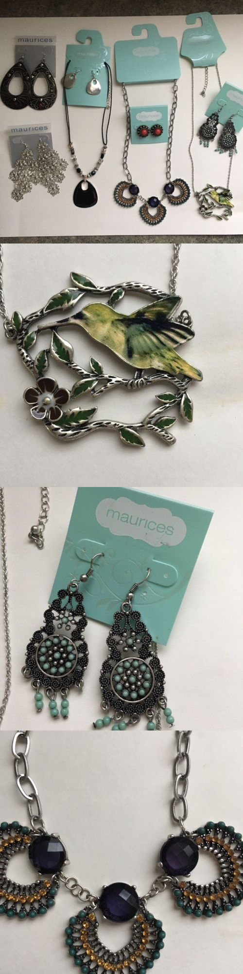 Mixed Items and Lots 10970: New Maurices Women S Jewelry Lot Necklaces Earrings Dangly Casual Elegant Nwt -> BUY IT NOW ONLY: $35 on eBay!