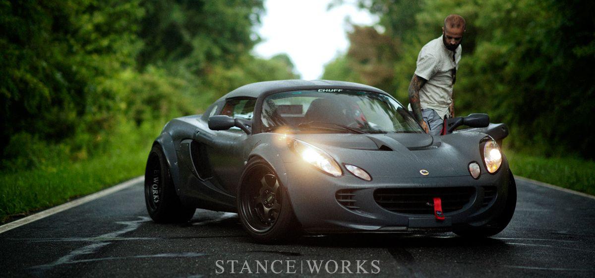 Michael Morelli And His Lotus Elise Custom Gunmetal Gray Lotus