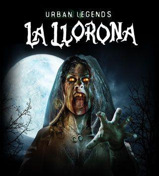 Urban Legends La Llorona Is A House At Halloween Horror Nights In Orlando Halloween Horror Nights La Llorona Urban Legends