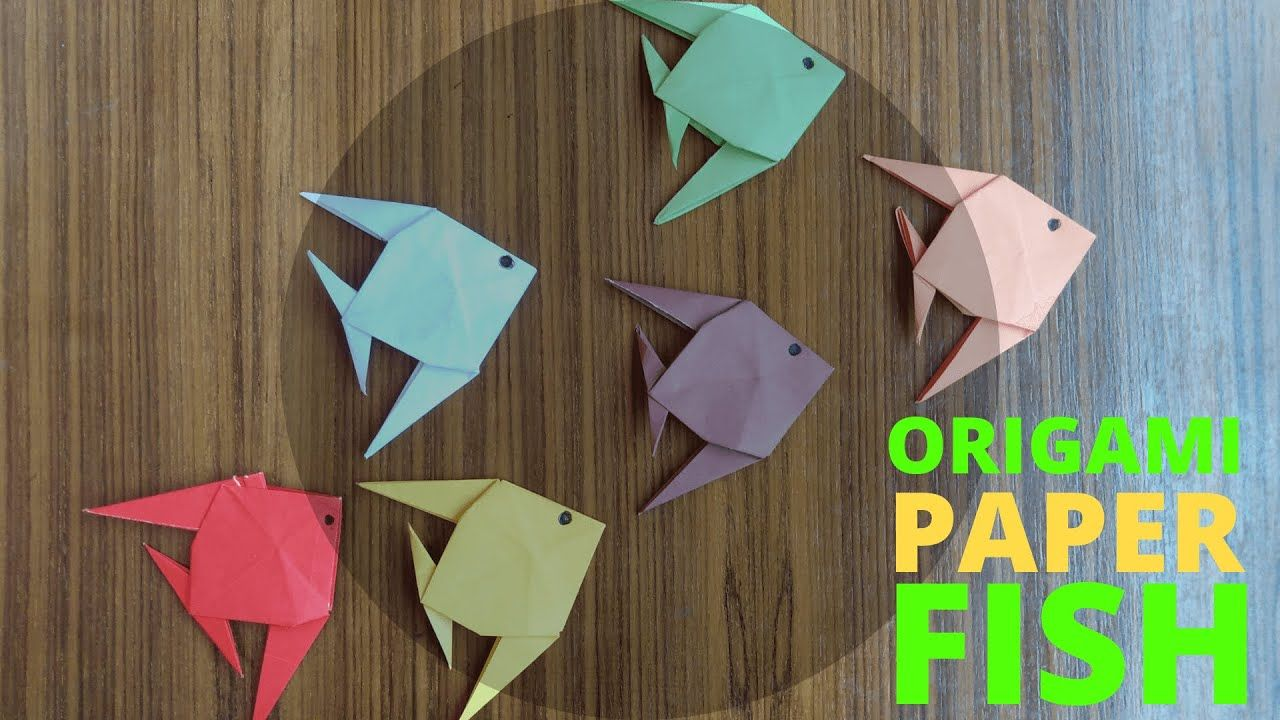 Photo of How to make a Origami Pomfret Fish *EASY* Origami Paper Fish   Origami Tutorial   Rubchanda Fish