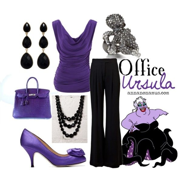 Office Ursula, created by annanonamus on Polyvore