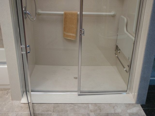 Handicap Shower Stalls Size Shower Wheelchair