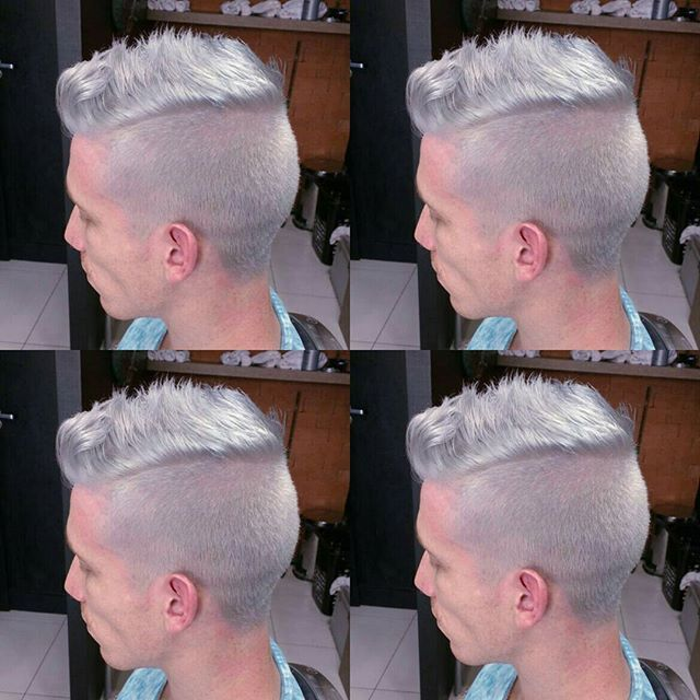 #platinado #nofilter #menplatinado #silverhair  #galito #barbeariagalito #barbershops