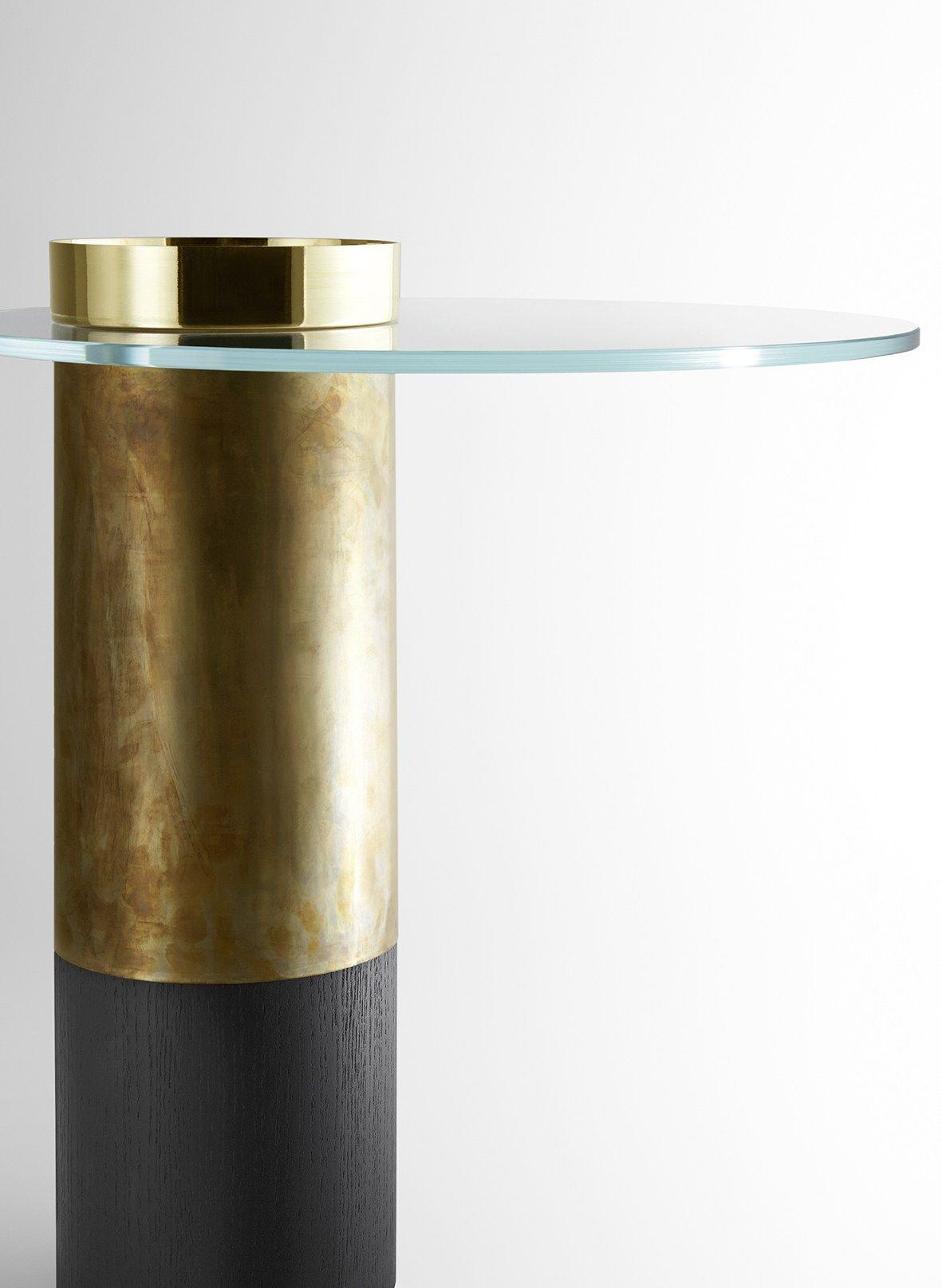Haumea Tavolino Basso By Gallotti Low Coffee Table Metal Coffee Table Brass Coffee Table [ 1615 x 1181 Pixel ]