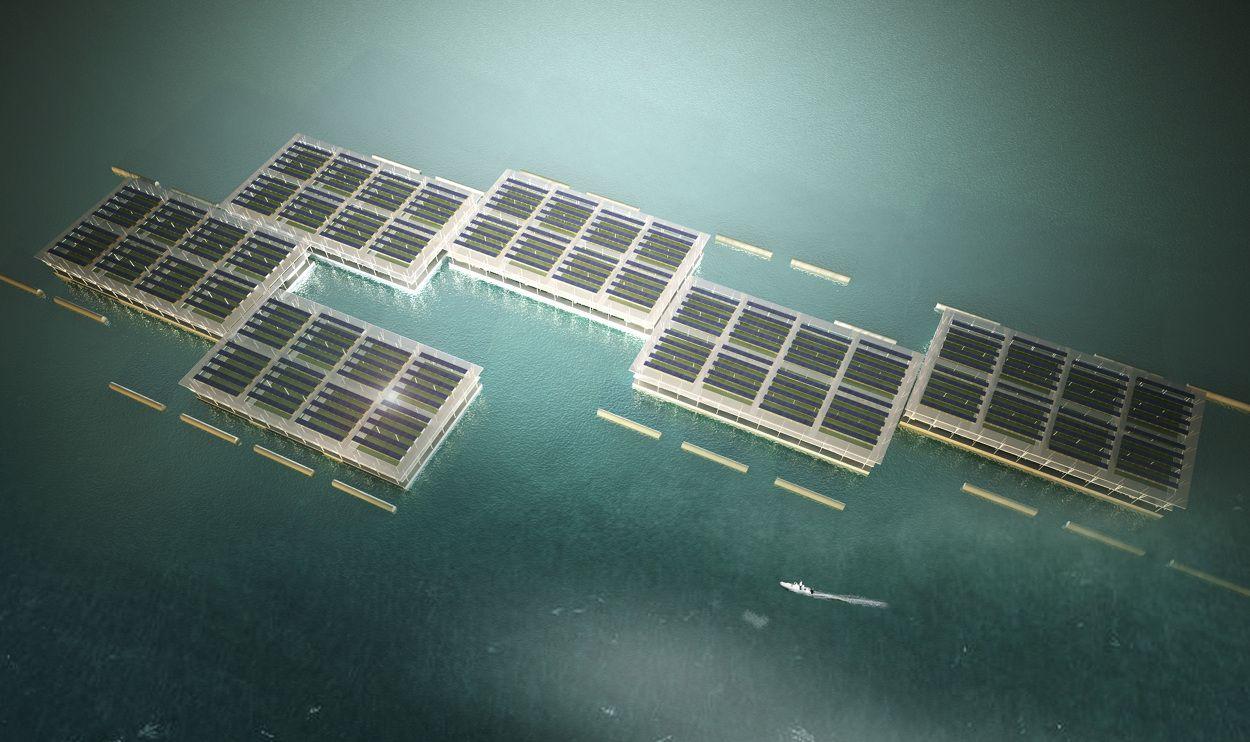 Futuristic Farming Methods Solar farm, Solar, Floating