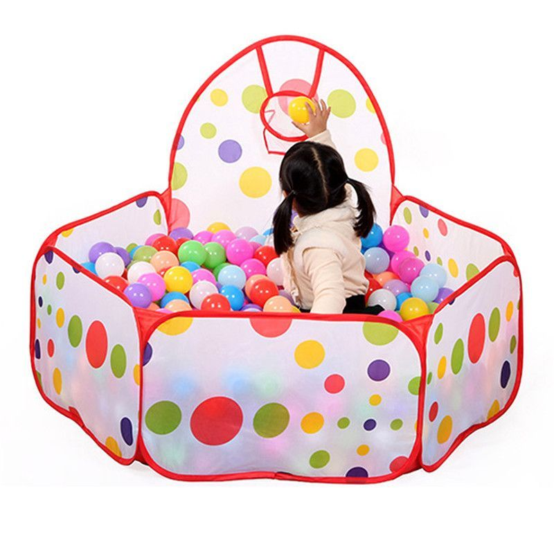 Large Children Kid Ocean Ball Pit Pool Game Play Tent with