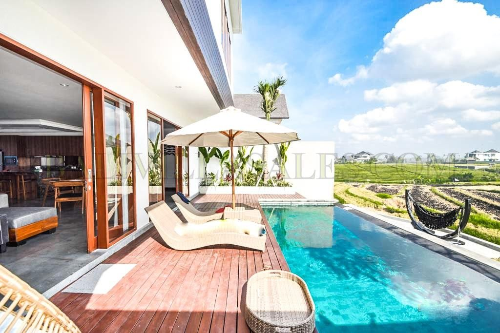 3 Bedroom Villa for sale Freehold with Richfield View in Cemagi