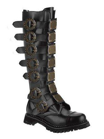 Steampunk Mens Boots