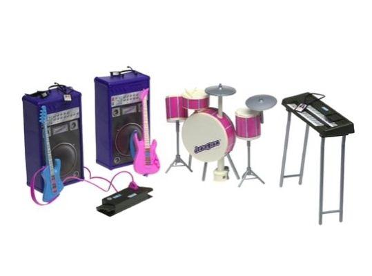 Mattel Barbie Jam 'n Glam Playset (2001)