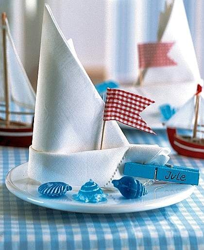 Decorare la tavola al mare tavola pinterest for Decorazioni torte tema mare
