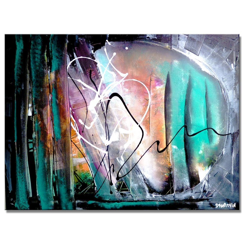 Amazing Abstract Painting Step By Step Video Tutorial Find Your