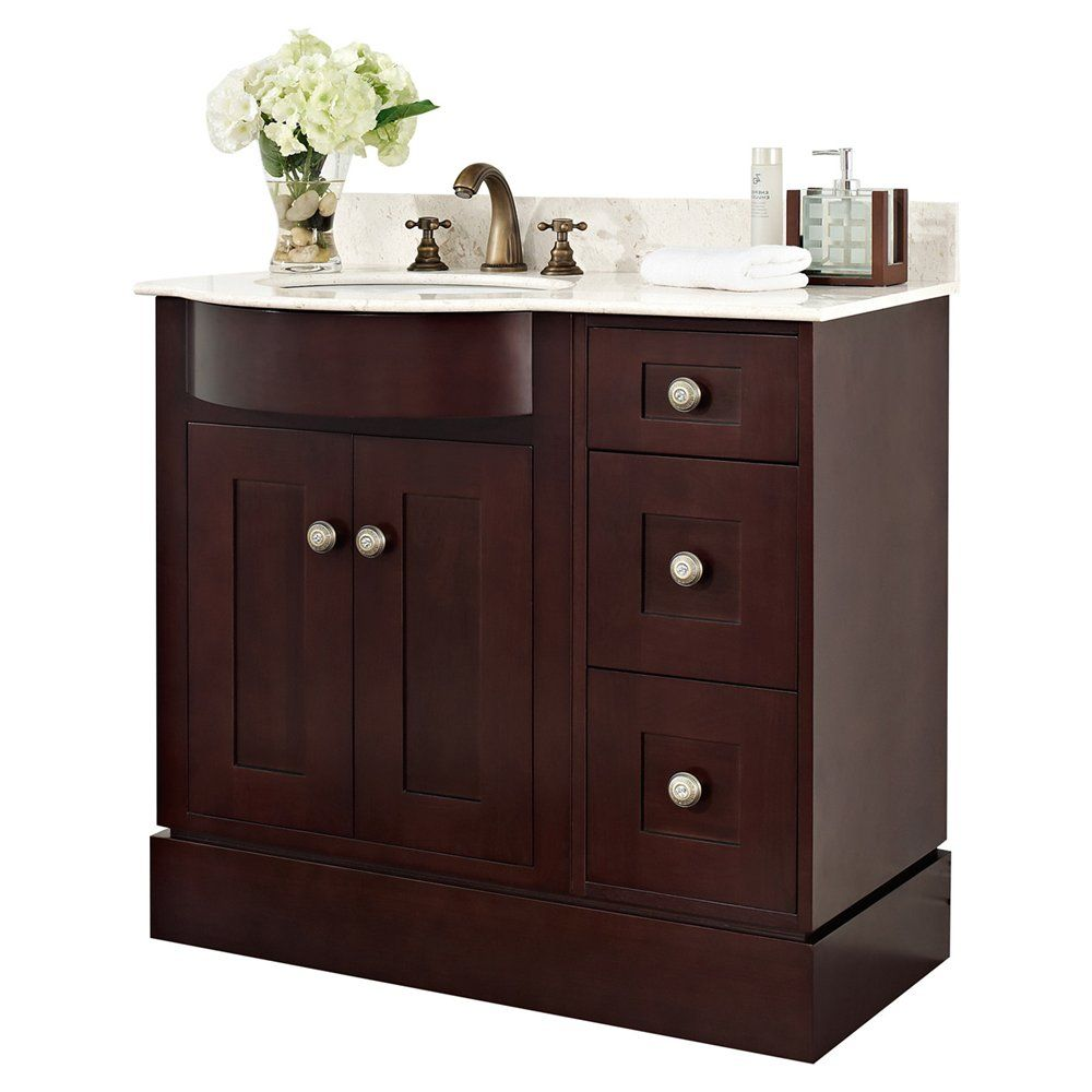 shop american imaginations american imagination ai 110 on lowes vanity id=22445