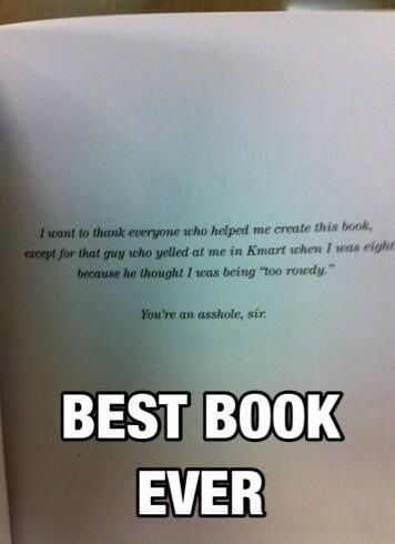 I want to publish a book just so I can do something like this
