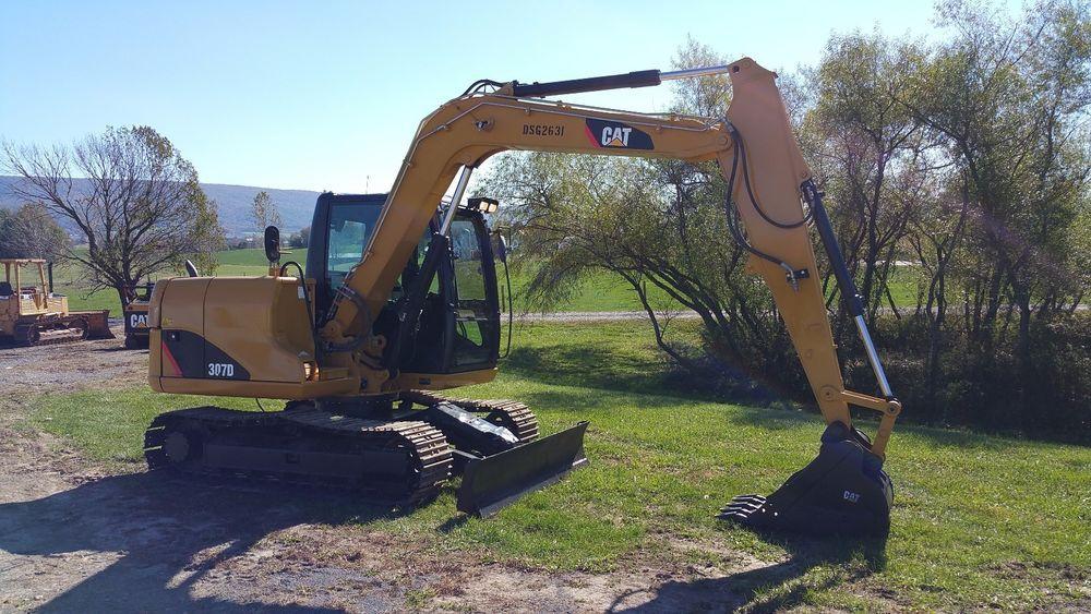 2011 Caterpillar 307D Midi Hydraulic Excavator Diesel