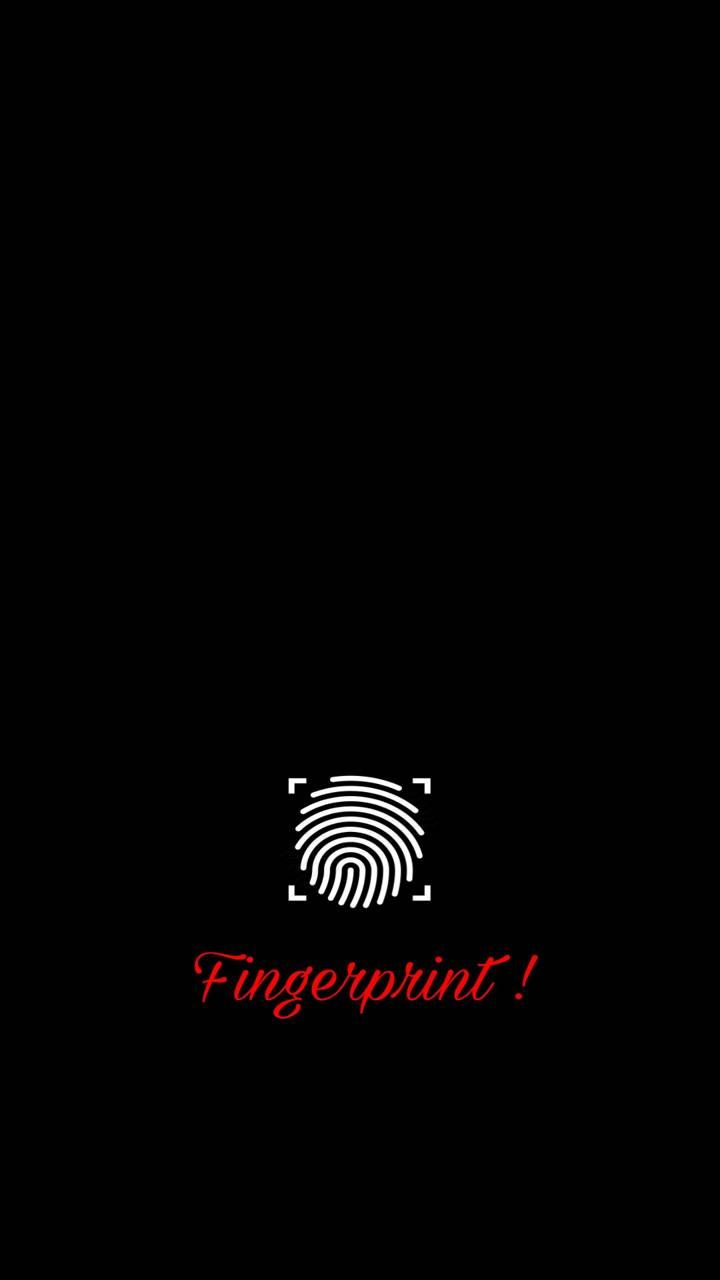 Black fingerprint Wallpaper by sker83 - 0c - Free on ZEDGE™ | Phone lock screen wallpaper, Cool ...