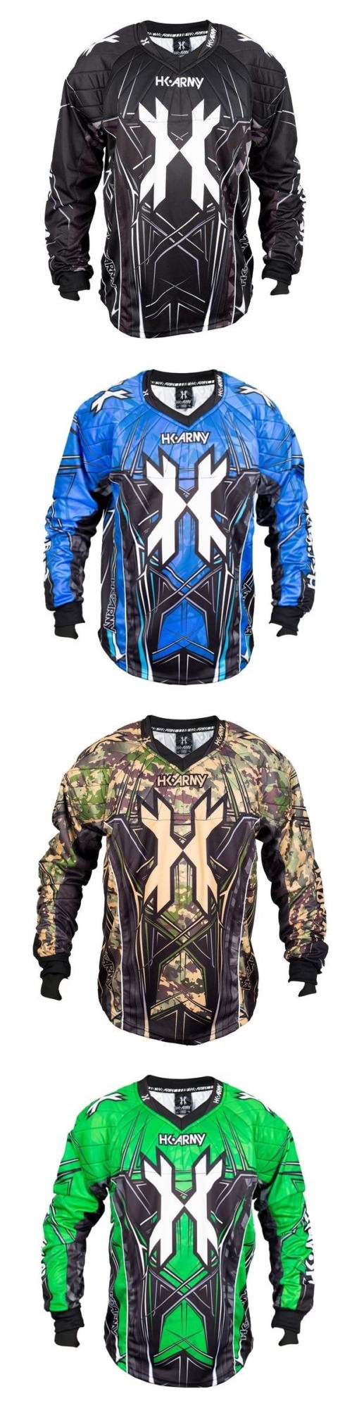 Jerseys and Shirts 165939: Hk Army Hstl Line Paintball Jersey - All Variants -> BUY IT NOW ONLY: $65 on eBay!
