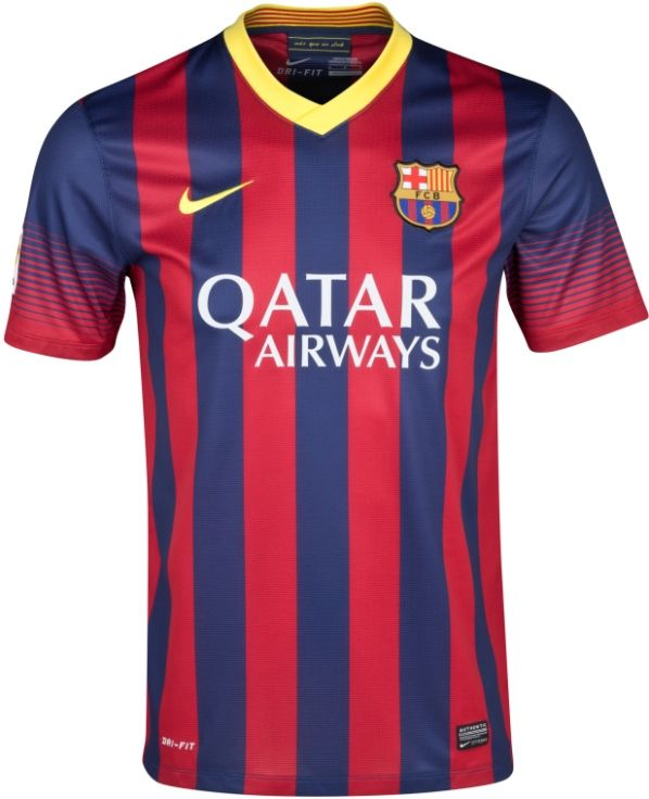 8de073538 Barcelona 2013-14 Home. Barcelona 2013-14 Home Nike Football Kits ...