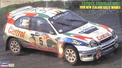 Hot Rod 2582: Hasegawa 1:24 Toyota Corolla Wrc 1998 New Zealand Raly Model Kit #25083 -> BUY IT NOW ONLY: $31.47 on eBay!