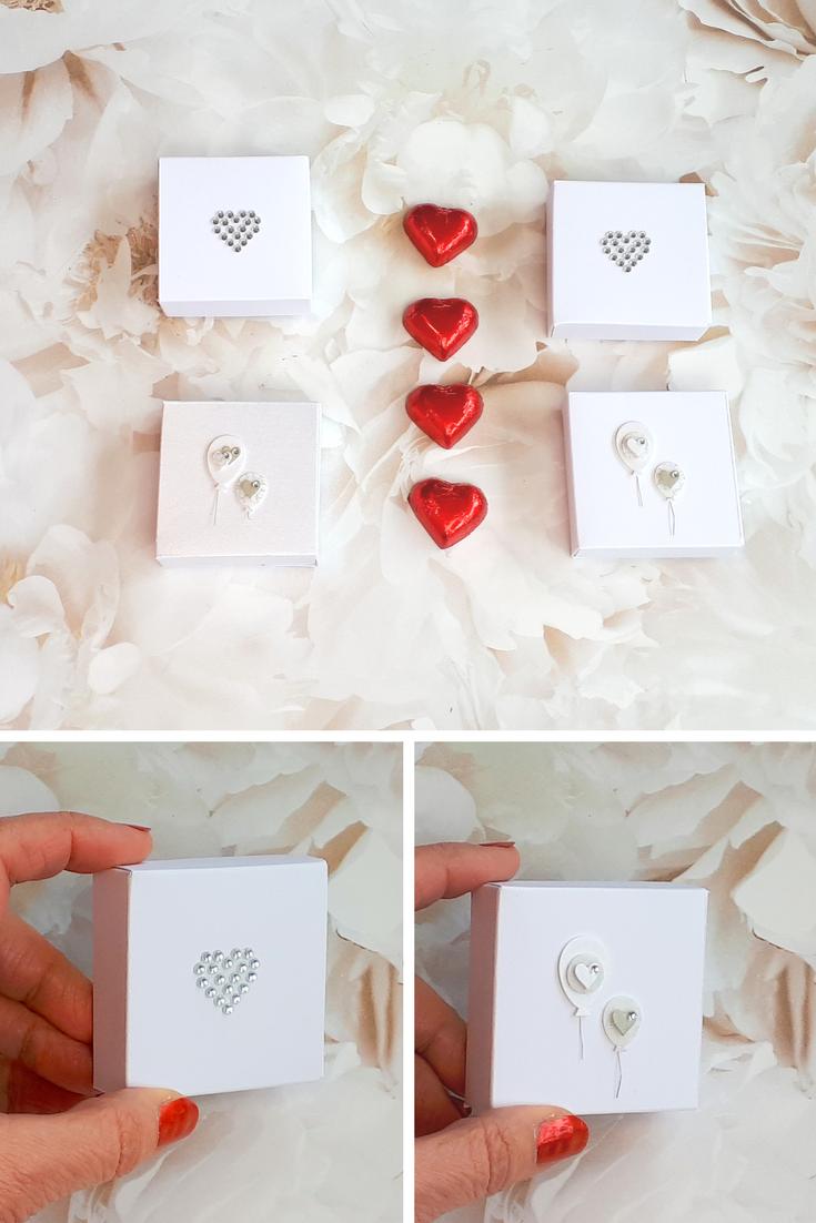 20/50 White wedding favors, bridal party gifts, bridesmaid gift box ...